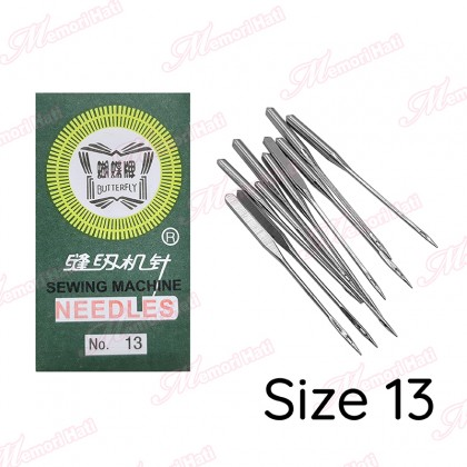 10pcs Butterfly HAX Sewing Machine Needles / Jarum Mesin Jahit Biasa & Portable